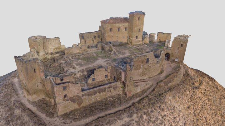 Castillo de Montearagón 3D Model