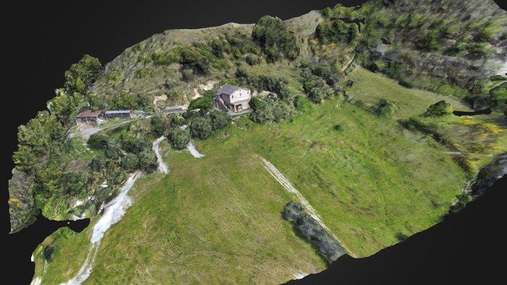 countryside landscape 3D Model
