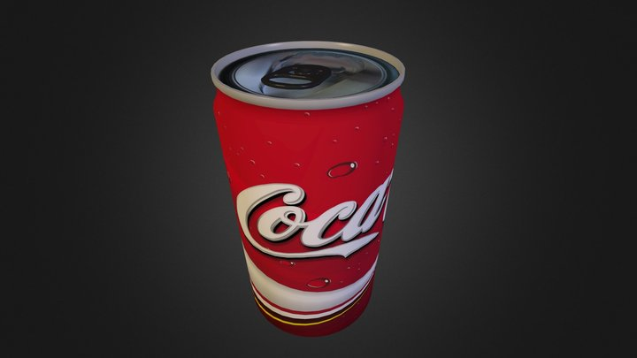 Canette Coca 3D Model