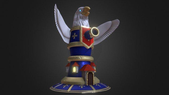 Eagle Tower 3D Model