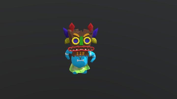 Chiamaka - the masked dancer 3D Model