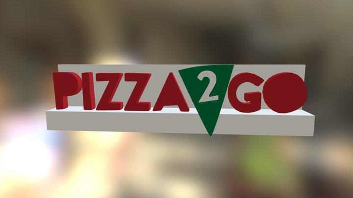 Pizza2goüsttabela 3D Model