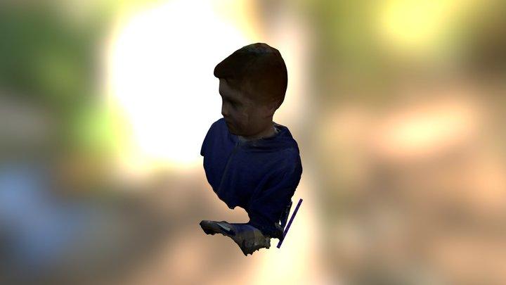 LetsBuildRobots - Lucas Head 3D Model