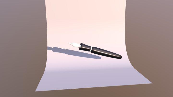 Classic Pen Kaweco 3D Model
