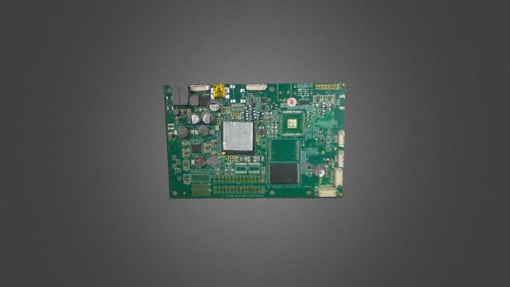 Surface HD50 电路板 3D Model