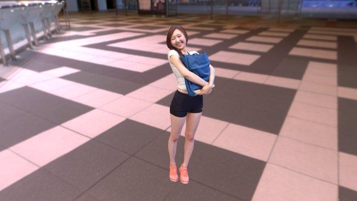 임유진 님(2) 3D Model