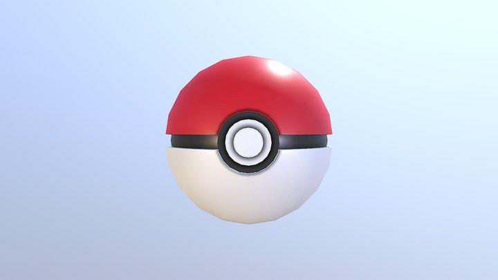 PokéBall 3D Model