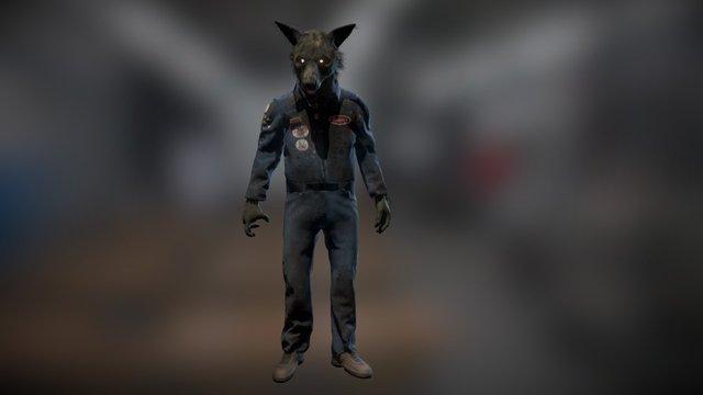 Wolfman 3D Model