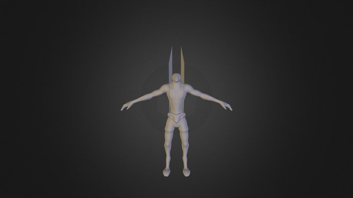 Characetrsketchfabtest 3D Model