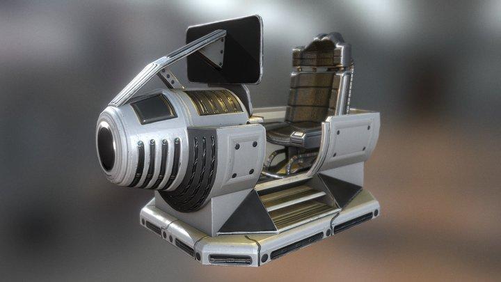 Control Module 3D Model