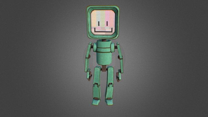 Robo-Buddy 3D Model