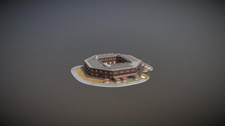 Benteng Van Der Wijck Kebumen 3D Model
