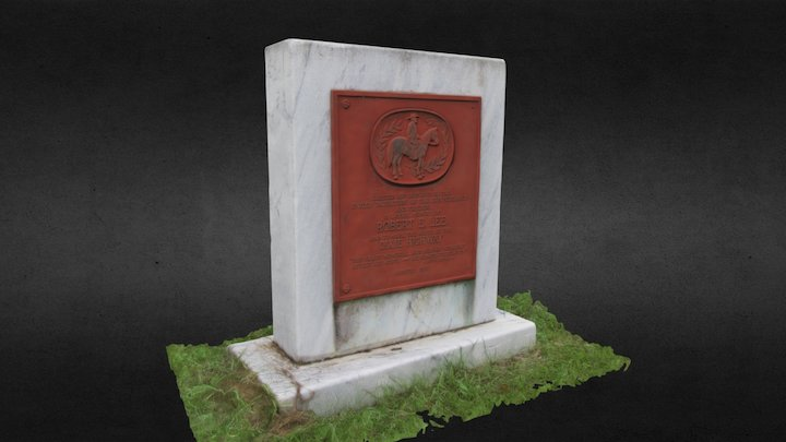 Bradfordville, FL Civil War Monument 3D Model