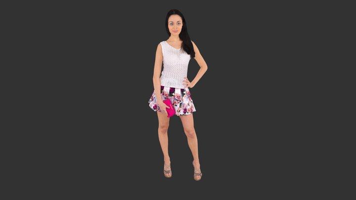 Woman Posed 3D Model