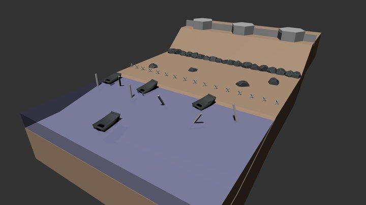 Mini D-DAY ver.1.1 3D Model