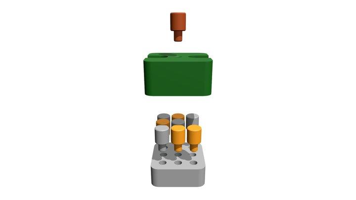 Morpion 3D Model