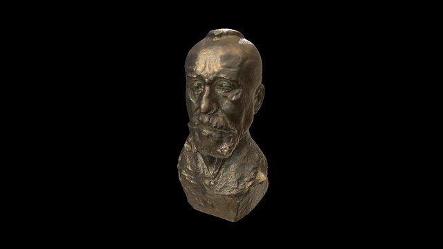 Sculpture Head 02 3D Model
