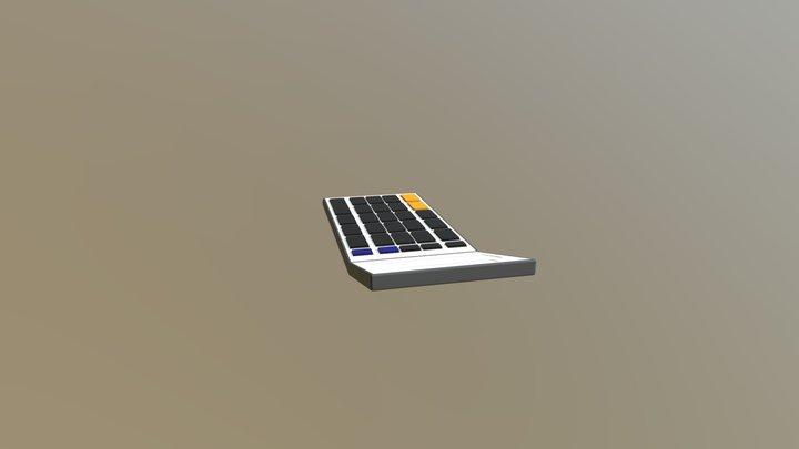 Standard Calculator 3D Model