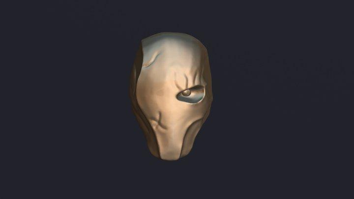 Deathstroke Mask for #sculptjanuary18 3D Model
