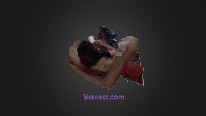Sharona_busy 3D Model