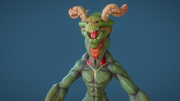 FREE Monster 3D Model
