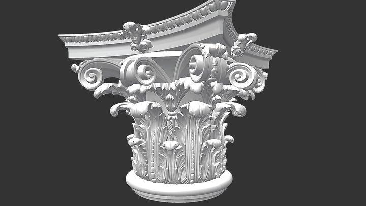 Capital big 3D Model