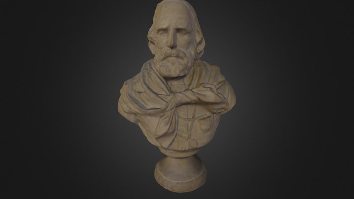 Busto Di Garibaldi 3D Model