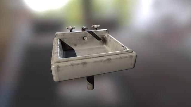 Wall Sink 3D Model