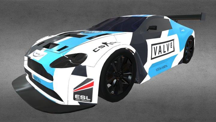 Aston Martin Vantage GT3 3D Model