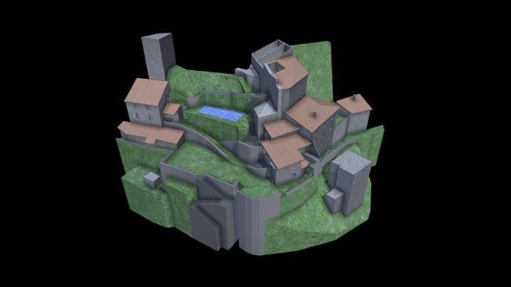 Rural Massing Model from Photogrammetry 3D Model