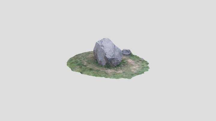 stone photogrammetry 3D made by Meshroom 3D Model