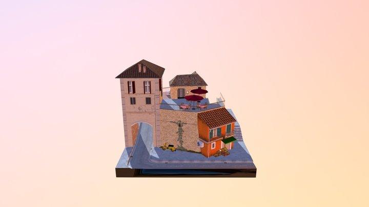 CityScene DAE 2017 - 2018 3D Model