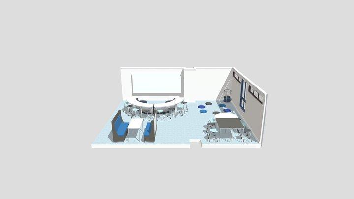 TTS Year 6 Lounge 3D Model
