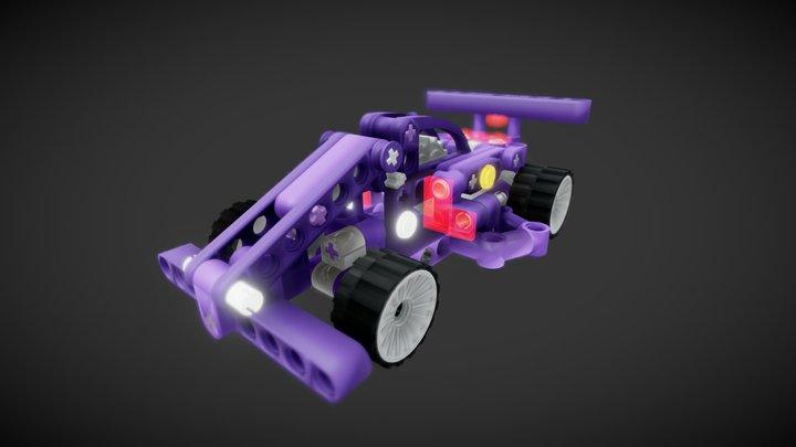 Lego Moc f1 ish Car 3D Model