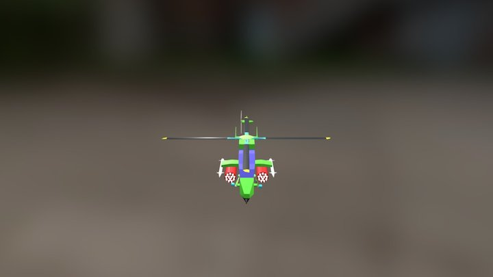 Helicoptero Tigre HAP 3D Model