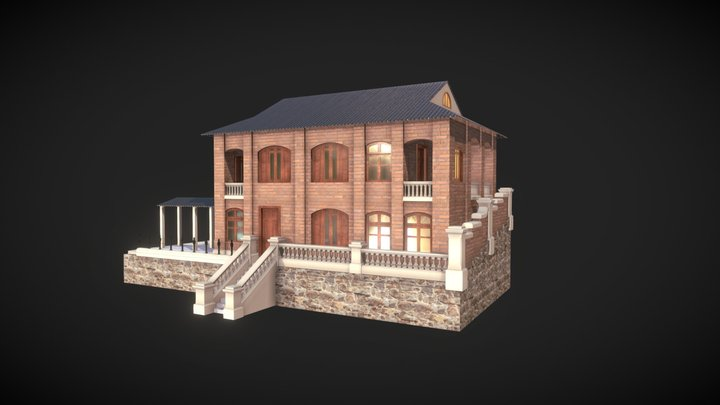 Hollywood Rd Queen's College Normal Rm 荷李活道皇仁師範樓 3D Model
