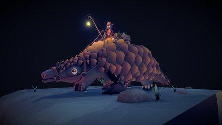 Test Pango Scene 3D Model