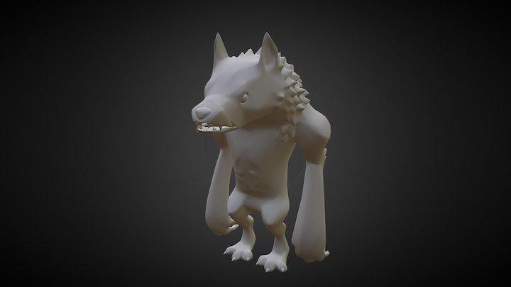 Werewolf Work In Progress 3D Model