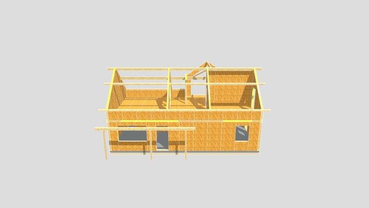 Z226+HB ze zmianami - piętro 3D Model