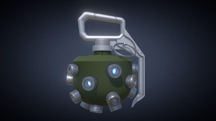 Titanfall Arc Grenade 3D Model