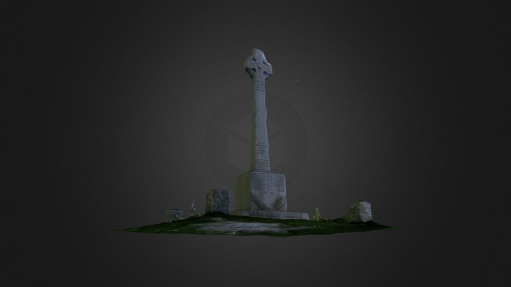 Moreton Corbett War Memorial 3D Model