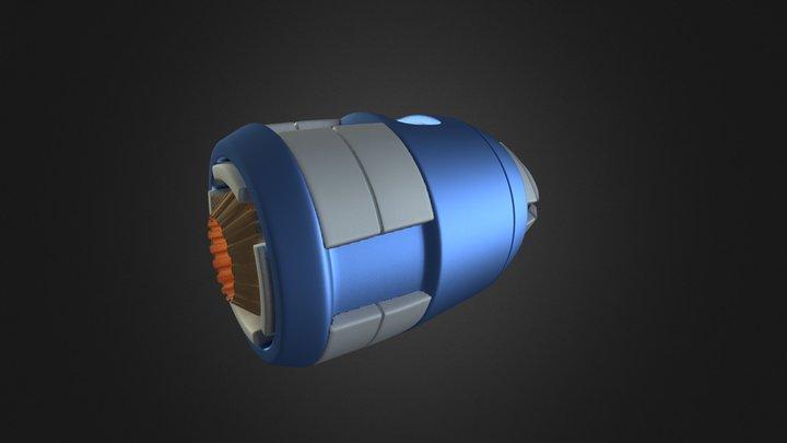 Energy Blaster 3D Model