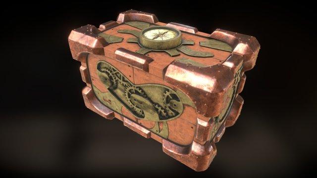 Steampunk Giftbox 3D Model