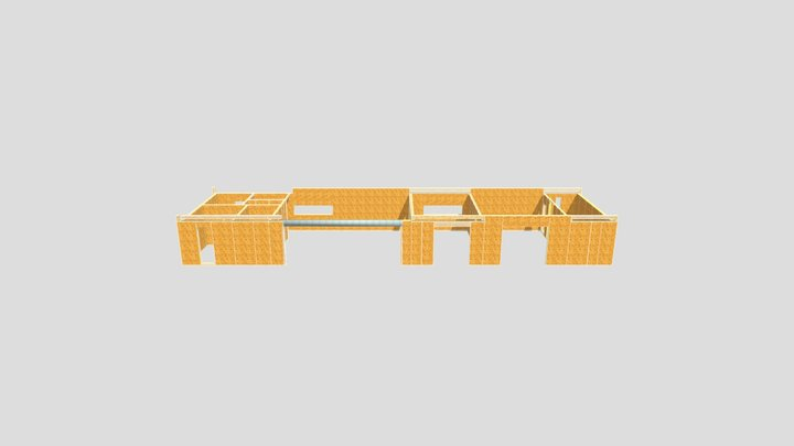 JAR - dom - parter - 2021.05.27 3D Model