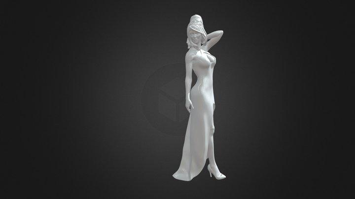 Rebekah02 3D print model 3D Model