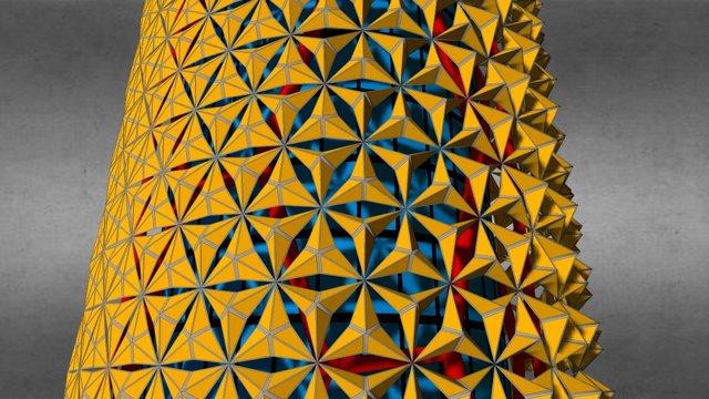 Al Bahar Tower 3D Model