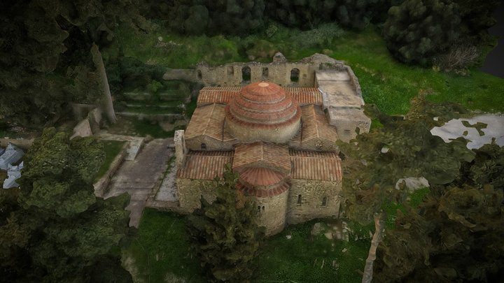Rotonda Byzantine Church Episkopi Kissamos 3D Model