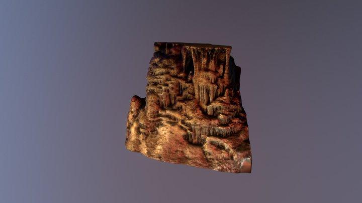Stalactite/Stalagmite Pillar 3D Model