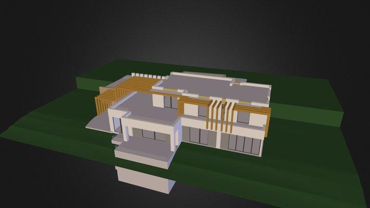 villa_variante_4 3D Model