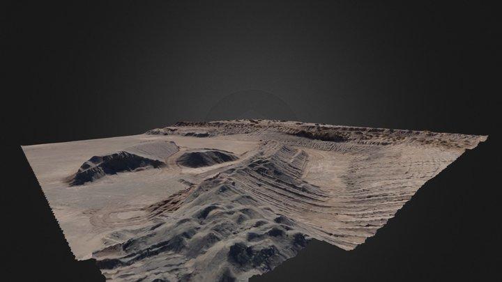 Cantera, Neuquén, Argentina. 3D Model